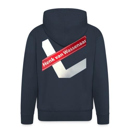 Henkvanwassenaar shirt - Mannenjack Premium met capuchon