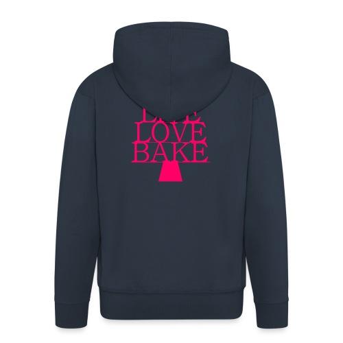LiveLoveBake ekstra stor - Herre premium hættejakke