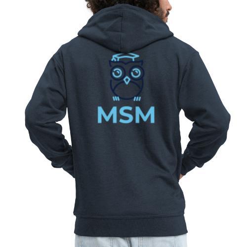 MSM UGLE - Herre premium hættejakke