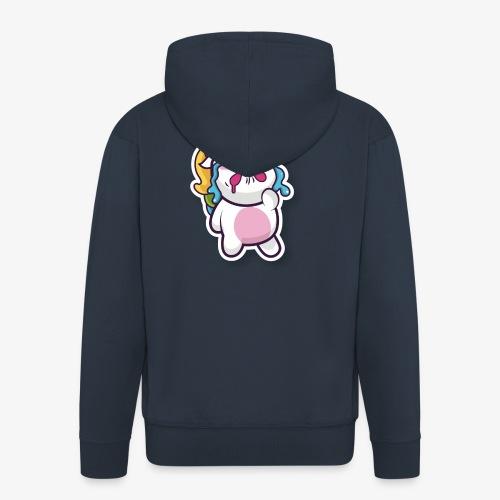 Funny Unicorn - Men's Premium Hooded Jacket