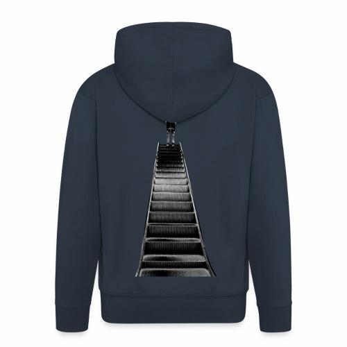 Stairway to Heaven - Men's Premium Hooded Jacket