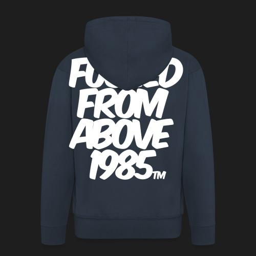 FUCKED FROM ABOVE 1985 - Felpa con zip Premium da uomo