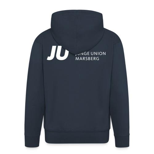 JUM_JU-Schriftzug2 - Männer Premium Kapuzenjacke