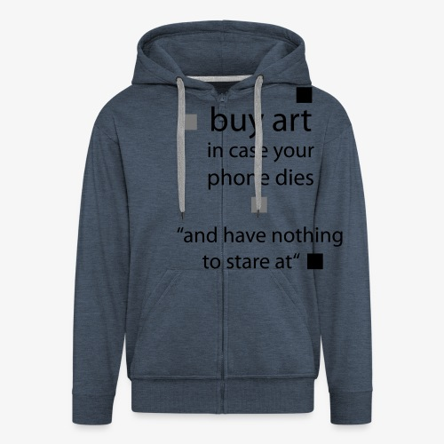 buy Art - Männer Premium Kapuzenjacke