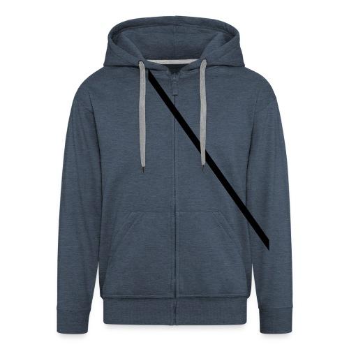 Minimale-Diagonale - Men's Premium Hooded Jacket