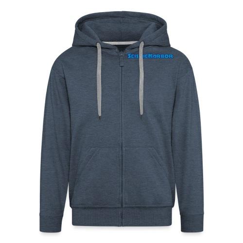 SeismicHarbor - Men's Premium Hooded Jacket