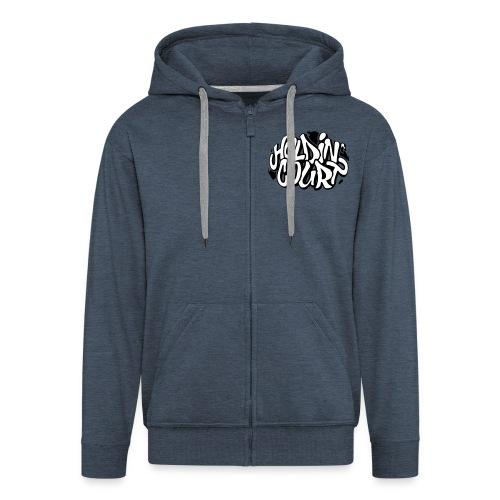 Hoodie Logo - Men's Premium Hooded Jacket