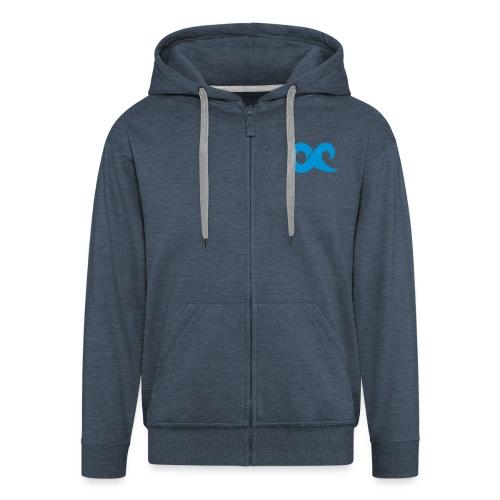 logoohnetext - Männer Premium Kapuzenjacke