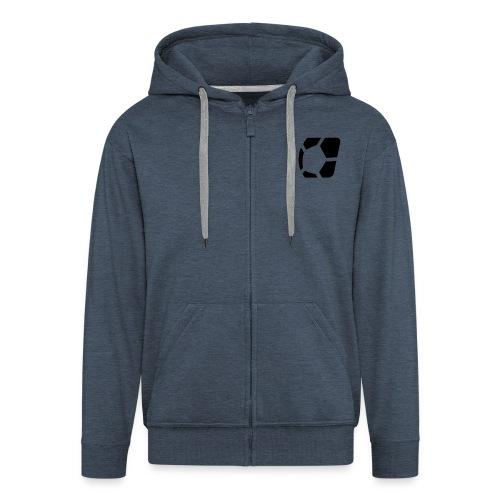 ligaexperte logo fertig - Männer Premium Kapuzenjacke