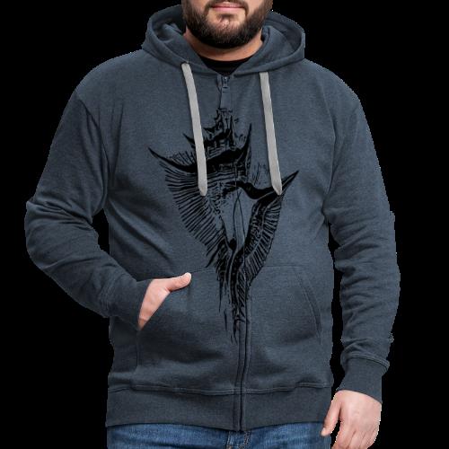 Muschel - Männer Premium Kapuzenjacke