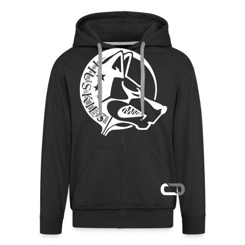 CORED Emblem - Men's Premium Hooded Jacket