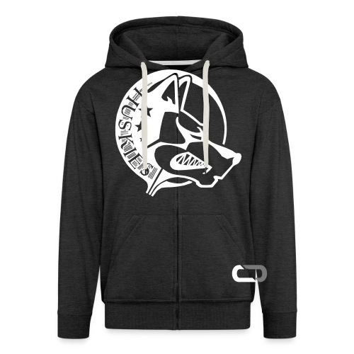 CORED Emblem - Men's Premium Hooded Jacket