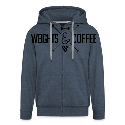 Weights Coffee black - Männer Premium Kapuzenjacke