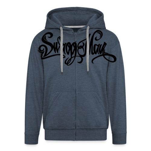 Swagg Man logo - Veste à capuche Premium Homme