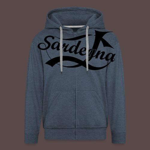 Sardegna USA - Felpa con zip Premium da uomo