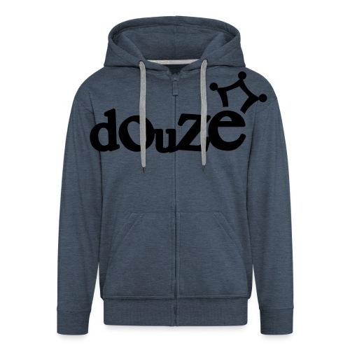 logo_douze - Veste à capuche Premium Homme