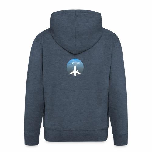 LL Aerospace Official Logo - Men's Premium Hooded Jacket