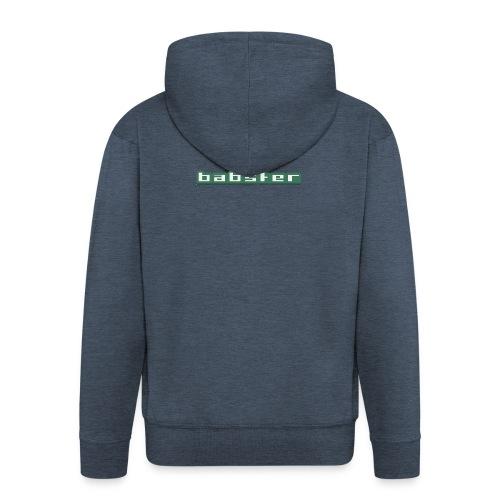 Babster Shirt - Mannenjack Premium met capuchon