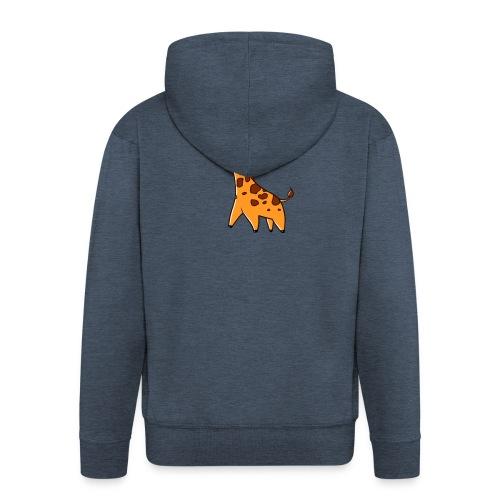 Mini Giraffe - Men's Premium Hooded Jacket
