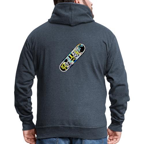 SkateFire #2 (MatteFShop Original) - Felpa con zip Premium da uomo