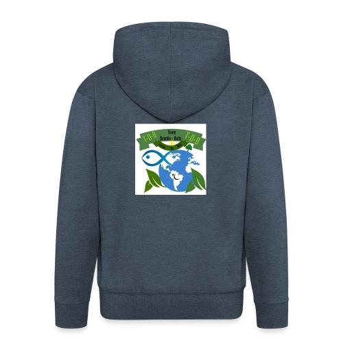 logo dumble baits - Veste à capuche Premium Homme