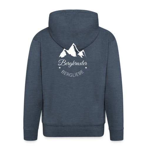 Bergkraxkler - Männer Premium Kapuzenjacke