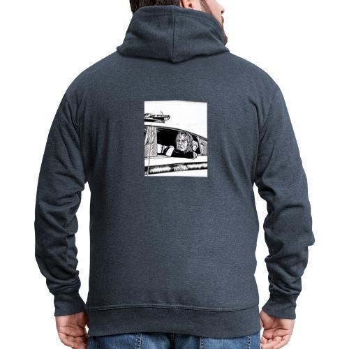 6ix9ine NYPD - Men's Premium Hooded Jacket