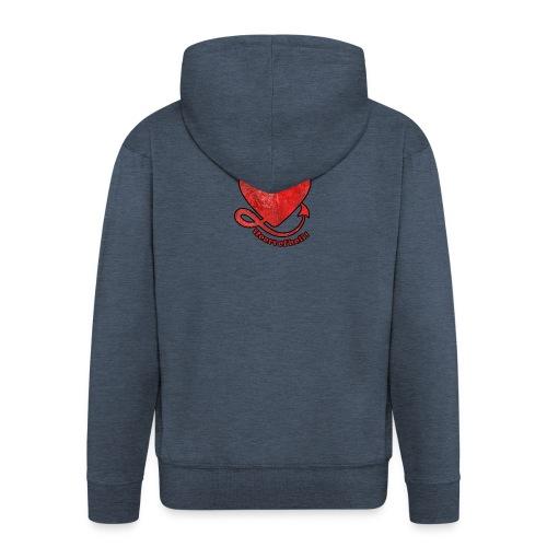 HEART OF HELL! - Veste à capuche Premium Homme