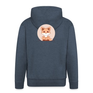 Shirt Vosje - Mannenjack Premium met capuchon