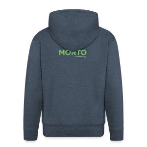 MORTO - Felpa con zip Premium da uomo