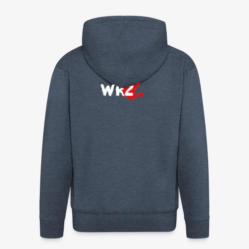 WRZ white version - Men's Premium Hooded Jacket