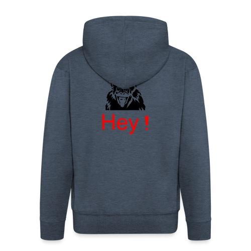 hey! monkey - Veste à capuche Premium Homme