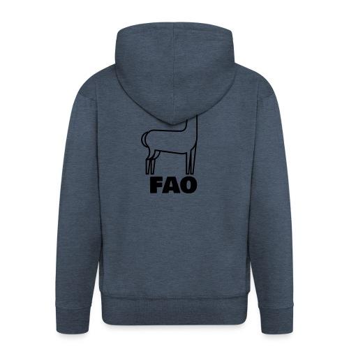 LaMaFAO - Männer Premium Kapuzenjacke
