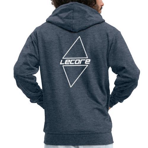 Lecore logo Vector black alt2 - Premium Hettejakke for menn