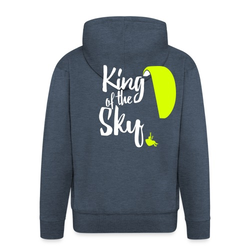 King of the Sky - Männer Premium Kapuzenjacke