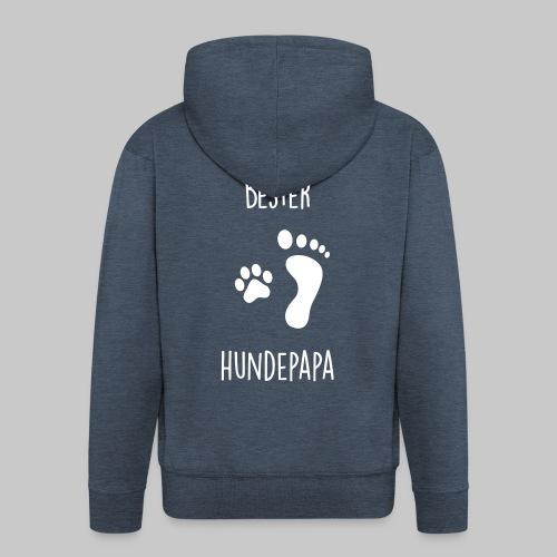 Bester Hundepapa - Männer Premium Kapuzenjacke