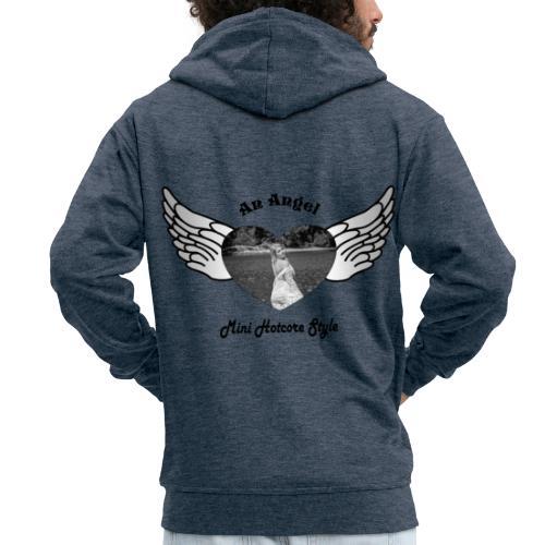 An Angel - Männer Premium Kapuzenjacke