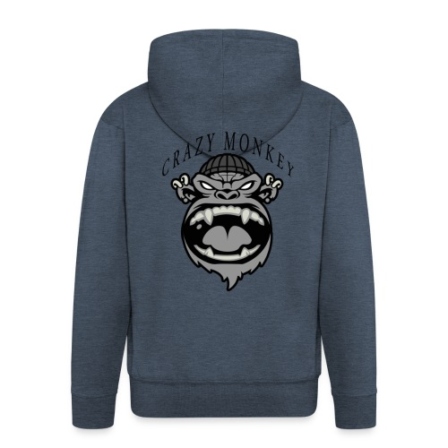 CRAZY MONKEY collection - Veste à capuche Premium Homme