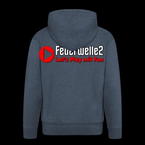 feuerwelle2 - Männer Premium Kapuzenjacke