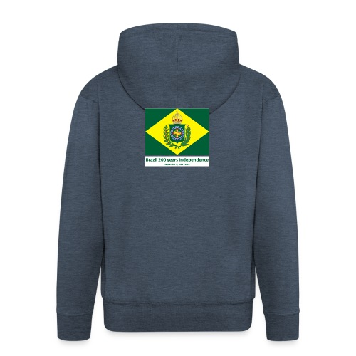 Brazil 200 years independence - Premium Hettejakke for menn