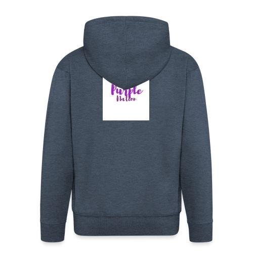Purple Nation - Premium Hettejakke for menn