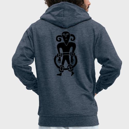 Kopfmensch - Men's Premium Hooded Jacket