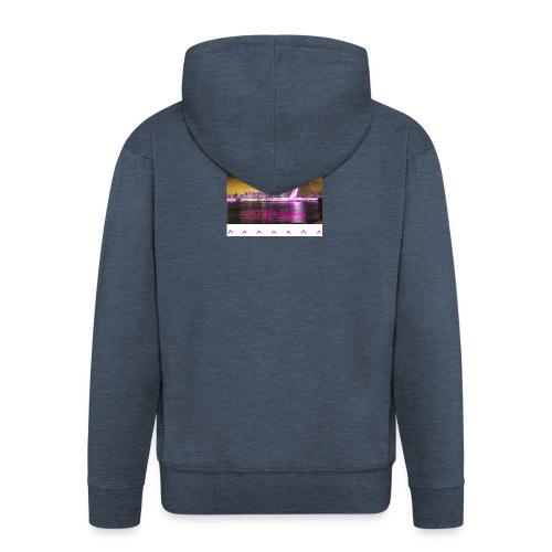 100 sweater wit - Mannenjack Premium met capuchon