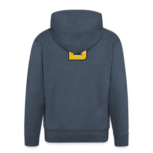 shirtontwerp - Mannenjack Premium met capuchon