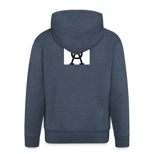 uå hoodie - Premium-Luvjacka herr