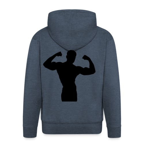 Musculation - Veste à capuche Premium Homme