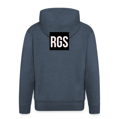 RGS_Profile_Logo - Men's Premium Hooded Jacket