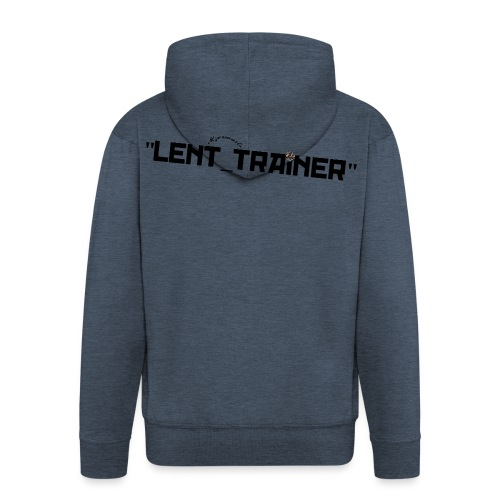 mzermarts-lettrines_Black - Veste à capuche Premium Homme