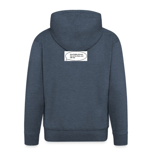 deine-mutter-witze-0 - Men's Premium Hooded Jacket