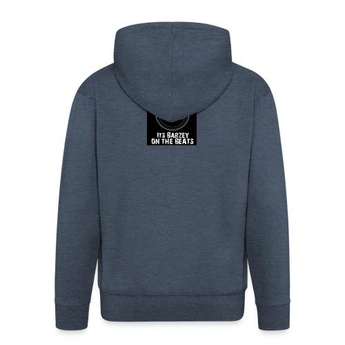 Its Barzey on the beats - Men's Premium Hooded Jacket